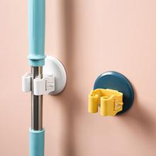 免打孔ti器厕所挂钩xi痕强力卫生间放扫把的架子置物架