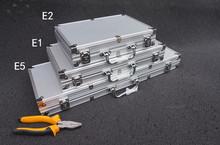 (小)号铝tj金箱元件收lp器箱零件盒模型箱子(小)工具收纳箱