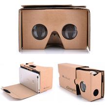谷歌Vtk眼镜二代纸jg头戴式3D虚拟现实纸质魔镜手机专用VR盒子