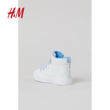 【冰雪奇缘系列】HM 童tn9女童宝宝wl卡通高帮运动鞋0896127