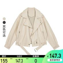【95折】机车皮衣女20