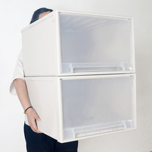 收纳箱to屉式收纳柜ok纳盒整理箱衣服衣物储物箱分层塑料柜子