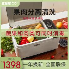 ENRtoCO/恩瑞ti消毒机水果蔬菜肉清洗机解消毒分开洗