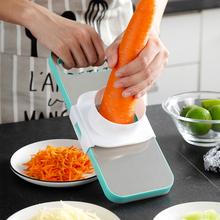 厨房多to能土豆丝切mu菜机神器萝卜擦丝水果切片器家用刨丝器