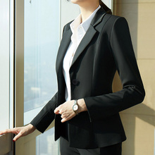 (小)西服to套2020is时尚休闲(小)西装女职业套装工作面试正装外套
