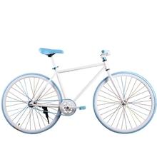 。死飞自行车男女学生成人
