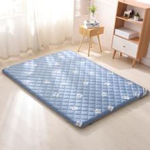罗兰家to全棉加厚抗zx子垫被单双的纯棉防垫1.8m床垫防滑