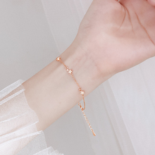 星星手tpins(小)众11纯银学生手链女韩款简约个性手饰