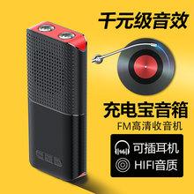户外蓝tp插卡音箱充la机手电多功能三合一低音炮大音量(小)音响