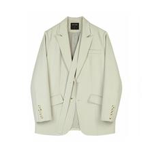 VEGtr CHANad装韩款(小)众设计女士(小)西服西装外套女2021春装新式