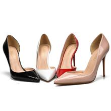 6/8tr10厘米防ad侧空大码高跟鞋40-43-44-45-46(小)码女鞋32