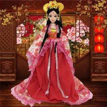 。30tr米古代公主ekADOLL/富华达女孩玩具换装衣服贵妃