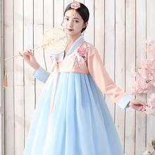 韩服女装朝鲜演出服汉服女