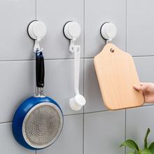 韩国强tt真空吸盘挂rb孔浴室吸墙无痕钉厨房门后贴墙上壁挂架