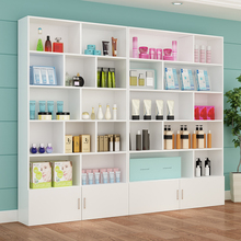 化妆品tt示柜家用(小)sk美甲店柜子陈列架美容院产品货架展示架