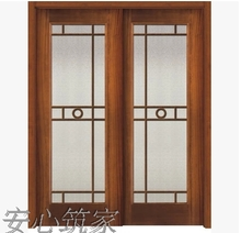 特价 tt内门 纯实gw套装门 烤漆 做旧 白色 双推玻璃 欧式 美式