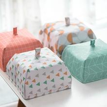 保温罩tu冬季加厚饭lv罩加热家用可折叠菜罩子防尘(小)号盖菜罩