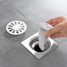 日本卫tu间浴室厨房zi地漏盖片防臭盖硅胶内芯管道密封圈塞