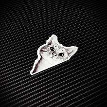 可爱萌宠(小)猫行李旅行箱贴纸个tu11防水汽is本电脑贴花X0140