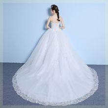 定制(小)tu子婚纱简约pi幻新娘显高个子公主显瘦流苏紧身修身简