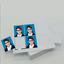 撕相纸tu片照直高光ux2压痕证件证件照驾驶员防水带直角背胶1
