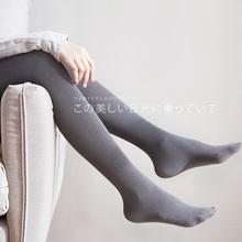100tv竖条纹中厚jx丝袜连裤袜女打底袜秋季丝袜灰色连脚连体袜