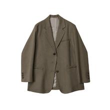 Desufgner trs 西装外套女2021春季新式韩款宽松英伦风bf西服上衣