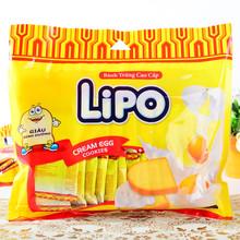 越南lipo白um4克力鸡蛋sv干300g进口零食品饼干早餐特产