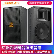 KTVun业音箱舞台fr庭卡拉OK舞蹈教室全频高档音响狮乐BM99-12