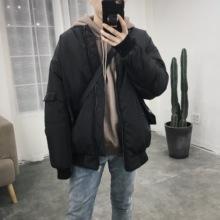 @方少男装 秋冬季纯色棒球领un11厚棉衣tr休闲潮流棉服外套