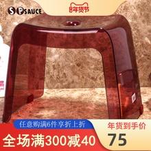 日本SP SunUCE浴室qu滑凳洗衣服凳洗澡凳矮凳塑料(小)板凳