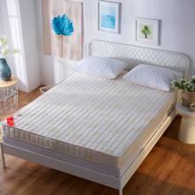 单的垫un双的加厚垫qu弹海绵宿舍记忆棉1.8m床垫护垫防滑
