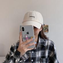 夏季新up式透气鸭舌go日系显脸(小)ins韩款百搭网红遮阳棒球帽