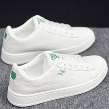 202ur新式白色学st板鞋韩款简约内增高(小)白鞋春季平底