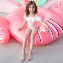 宝宝泳ut女(小)公主女rl温泉(小)童宝宝韩国裙式可爱中大童比基尼