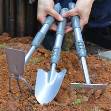 园艺(小)铲uu1种花赶海56铁铲挖土户外除草神器(小)铁锹园林种菜
