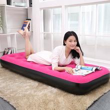 单的午va 双的加厚ar垫床家用简易帐篷床便携折叠床