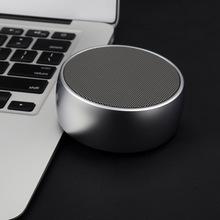 bs0va蓝牙音箱(小)er低音家用无线便携迷你(小)型金属手机音响插卡