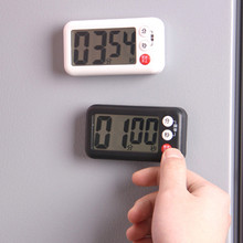日本磁vb厨房烘焙提yo生做题可爱电子闹钟秒表倒计时器
