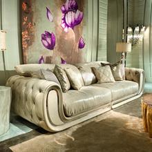 Corveelio mqpellini家具轻奢沙发意式客厅艺术高档真皮定制家具