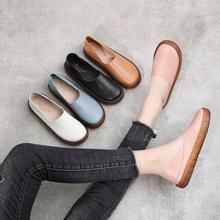 [vellbeck]真皮单鞋女2020春新款