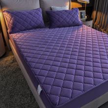 水晶绒ve棉床笠单件or暖床罩防尘全包席梦思保护套防滑床垫套