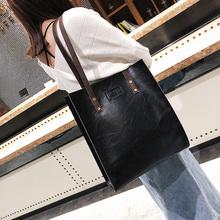 大包包20ve20皮包新mo美复古简约公文包时尚手提包单肩包潮包