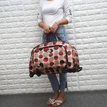 轻便大短途登机包男女旅行时尚收纳ve13带轮手ti杆包行李箱