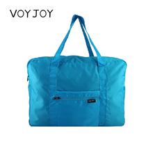 VOYviOY可折叠ra李袋手提大容量旅行包尼龙可套拉杆箱登机通用