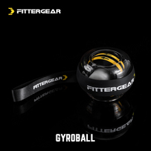 FitvierGeara压100公斤男式手指臂肌训练离心静音握力球