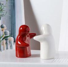 温暖的vi抱(小)的鲍抱as瓷摆件娃娃拥抱玩偶李沁同式电影情的节