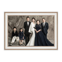 婚纱照vi框16 2es4寸结婚照放大照片定制挂墙全家福大尺寸免打孔