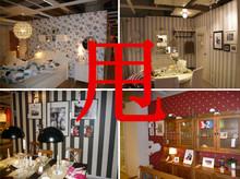纯色素色北欧式美式vi6潮北欧电tb纺布宝宝房进口壁纯纸墙纸