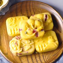 寿盈门vi豆糕绿豆饼li点心好吃的绿豆冰糕休闲(小)吃零食
